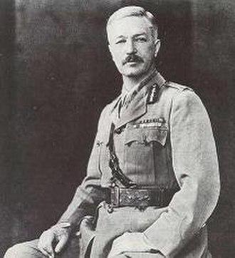 Reginald Edward Harry Dyer - Dyer circa 1919