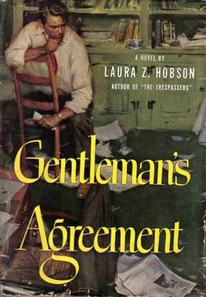 Gentleman's Agreement (novel) - First edition