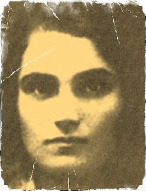 Yevgenia Ginzburg - ID photo of young Yevgenia Ginzburg