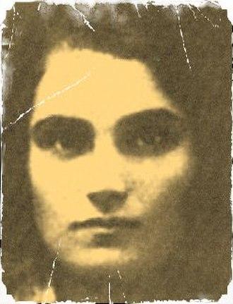 Yevgenia Ginzburg - ID photo of young Yevgenia Ginzburg