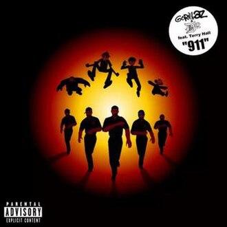 911 (Gorillaz and D12 song) - Image: Gorillaz 911 single cover