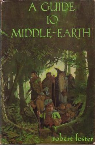 A Guide to Middle-earth - Front of wrap-around dust jacket