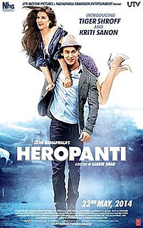 <i>Heropanti</i> 2014 film by Sabbir Khan