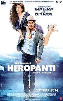 Heropanti  2014 Hindi Movie Watch Online,  Heropanti