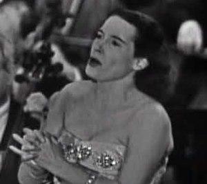 Herva Nelli - Herva Nelli, in the NBC telecast of Aïda, 1949.