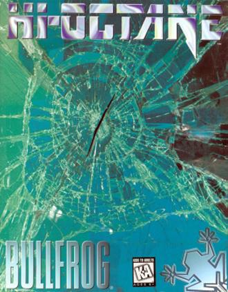 Hi-Octane - DOS cover art