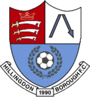 Hillingdon Borough F.C. - Image: Hillingdon Borough F.C. logo