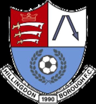 Hillingdon Borough F.C. - Image: Hillingdon Borough F.C. logo