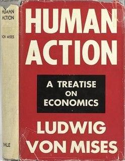 <i>Human Action</i> book