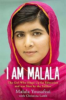 <i>I Am Malala</i> book by Malala Yousafzai