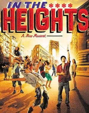 In the Heights - Broadway poster