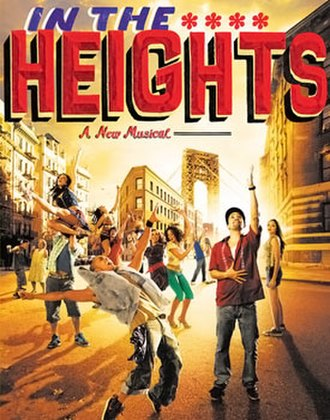 In the Heights - Broadway promotional poster