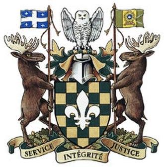 Sûreté du Québec - Image: Iv 473 20040064 arms su sm