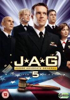 <i>JAG</i> (season 5) Season of television series