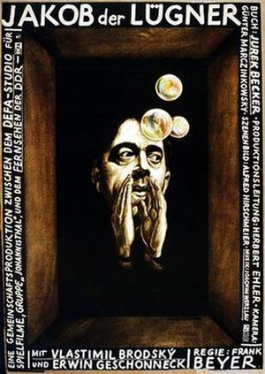 Jacob the Liar (1975 film) - Theatrical release poster