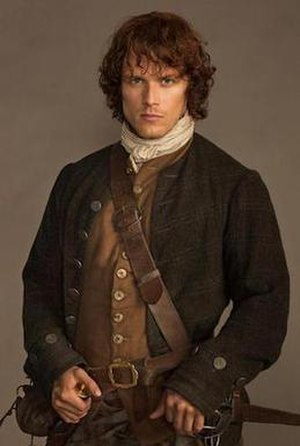 Jamie Fraser (character) - Sam Heughan as Jamie Fraser