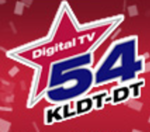 KAZD - KLDT-DT 54 logo from the time when the station used RF channel/virtual channel 54 from 2007 to 2010.