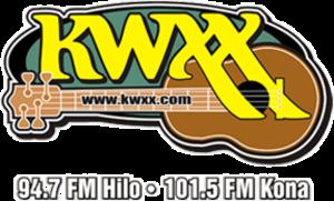 KWXX-FM - Image: KWXX 94.7 101.5 logo
