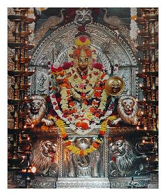 Kamakshi - Goddess Kamakshi at Shiroda, Goa