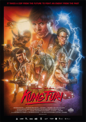 Kung Fury - Theatrical release poster