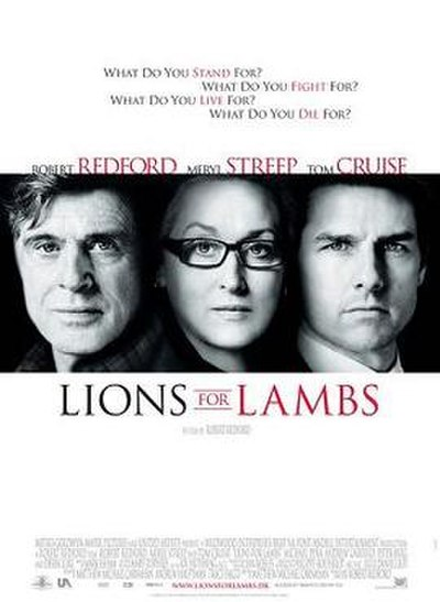 Picture of a movie: Lions For Lambs