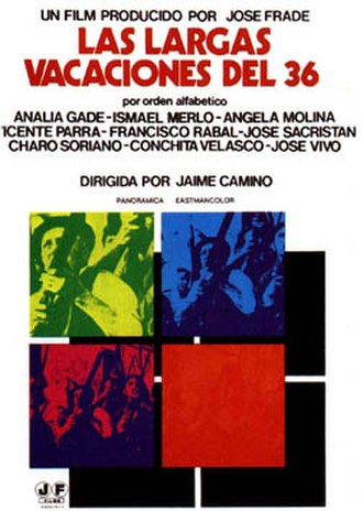 Long Vacations of 36 - Spanish film poster