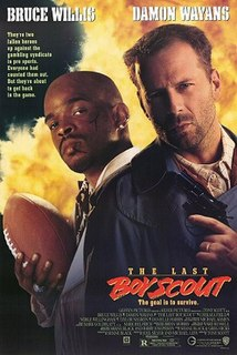 <i>The Last Boy Scout</i> 1991 American buddy action comedy comedy film by Tony Scott