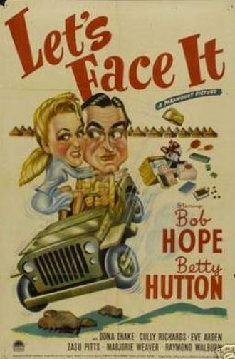 Let's Face It (film) - Theatrical release poster
