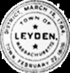 Leyden, Massachusetts - Image: Leyden MA seal