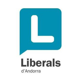 Liberal Party of Andorra - Previous logo of the Liberal Party