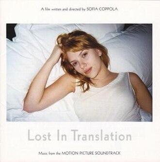 Lost in Translation (soundtrack) - Image: Lost in Translation OST alt cover