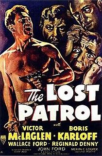 <i>The Lost Patrol</i> (1934 film) 1934 film by John Ford