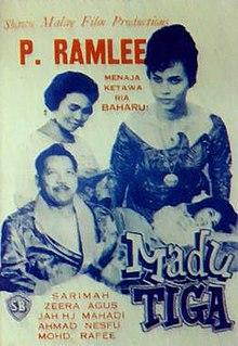 <i>Madu Tiga</i> 1964 Singaporean film