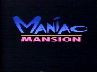 Maniac Mansion (TV series) - Image: Maniac Title