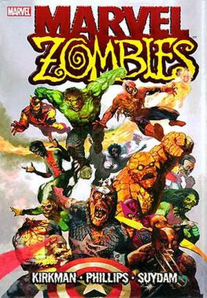 Marvel Zombies - Image: Marvel Zombies hardcover