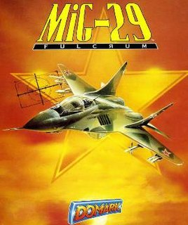 <i>MiG-29 Fulcrum</i> (1990 video game) 1990 video game