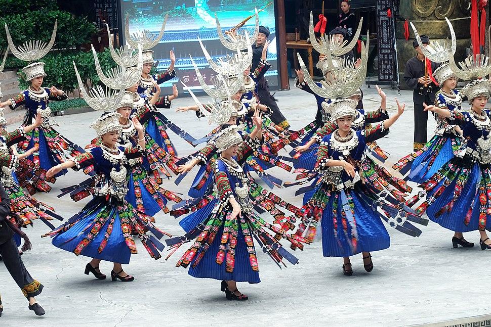 Miao Women Dancing Guizhou