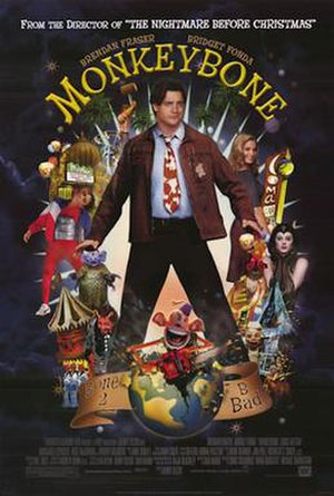 Monkeybone - Theatrical release poster
