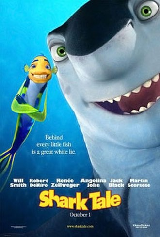 Shark Tale - Theatrical release poster