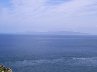 Mull of Kintyre - Mull of Kintyre in distance - taken from Torr Head, Northern Ireland