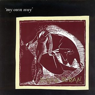 My Own Way (song) - Image: My Own Way