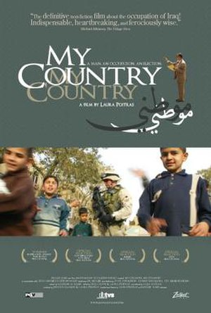 My Country, My Country - Promotional poster for My Country, My Country