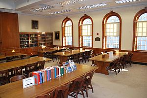 New England Historic Genealogical Society - Ruth Chauncey Bishop Reading Room at NEHGS.