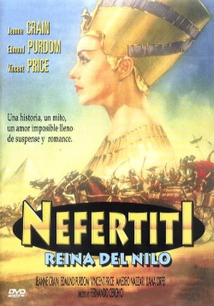 Nefertiti, Queen of the Nile - Spanish poster for the film