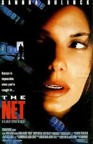 The Net (1995 film) - Theatrical release poster