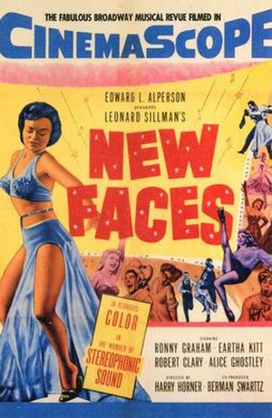 New Faces (film) - Image: New Faces (1954) poster