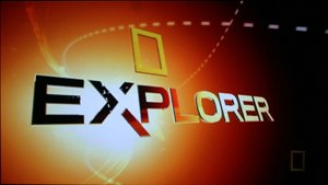 National Geographic Explorer - A 2005 title screenshot.