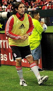 American soccer player