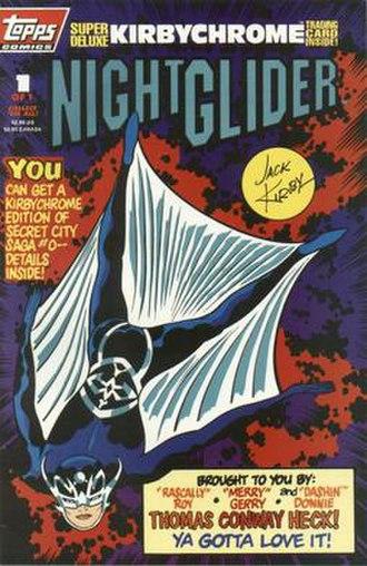 Topps Comics - Image: Night Glider 1