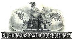 North American Company - Image: North American Edison logo